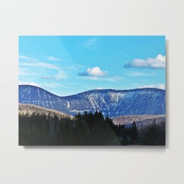 North Face Mont Albert Metal Print