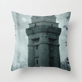 Bismarck tower Throw Pillow