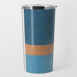 Intercepts, Geometric Forms Shapes Travel Mug