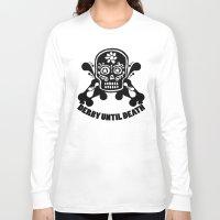 roller derby Long Sleeve T-shirts featuring Roller Derby Until Death by Mean Streak