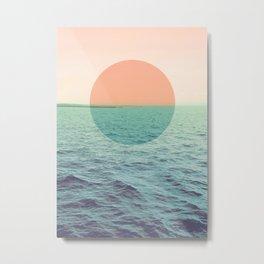 Because the ocean Metal Print