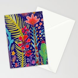 in the migthy jungle Stationery Cards