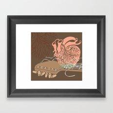 THE SOUND - ANALOG zine Framed Art Print