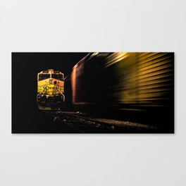 """ Space Train "" - Print Canvas Print"