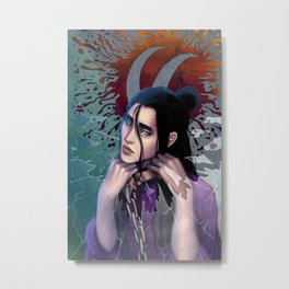 The cell I live in is in my mind Metal Print