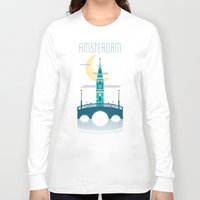 amsterdam Long Sleeve T-shirts featuring Amsterdam by Milli-Jane
