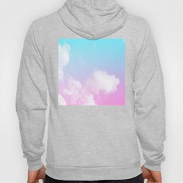 Pink Summer Clouds Hoody