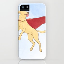 Heroic Canine iPhone Case