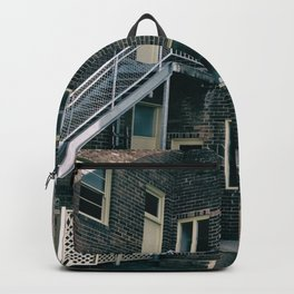Brick Building Toilets Backpack