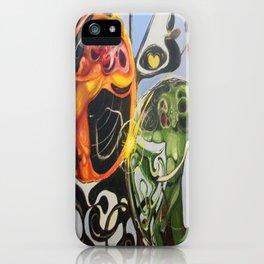 """Heart Spores"" - Oils on original. iPhone Case"