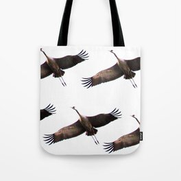 Cranes in flight #decor #society6 Tote Bag
