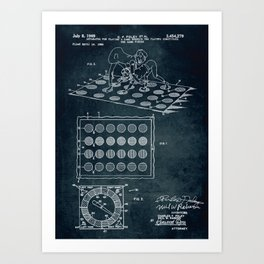 1966 - Twister game Art Print