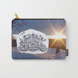 Travel with Mr Snowman Carry-All Pouch
