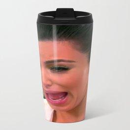 KIM K CRYING Travel Mug