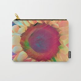 Neon Sunflowers Carry-All Pouch