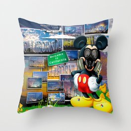 California Mouse by John Logan Throw Pillow