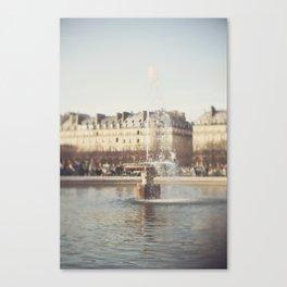 Freelensing (4) Canvas Print