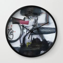 cardiofobia Wall Clock