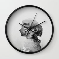 the who Wall Clocks featuring WHO by Annes Bil