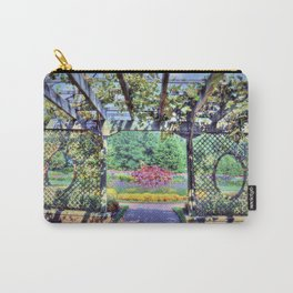 Grape Arbor Carry-All Pouch