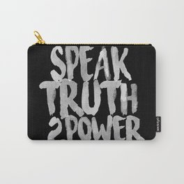 Speak Truth to Power Carry-All Pouch