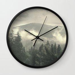 Carpathian Mountains - Transylvanian Alps Wall Clock