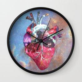 Superstar Heart Wall Clock