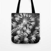 coconut wishes Tote Bags featuring Wishes  by A Wandering Soul
