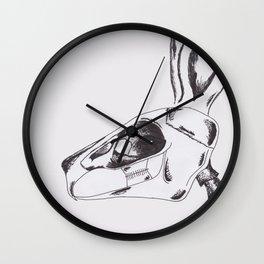 francine the rabbit queen. Wall Clock
