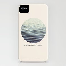 do small things with great love Slim Case iPhone (4, 4s)
