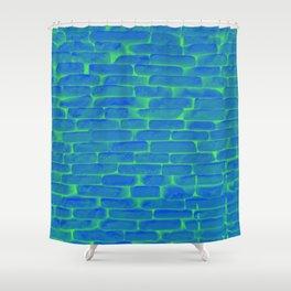 Nuclear Bricks Shower Curtain