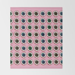 Eye Candy Throw Blanket