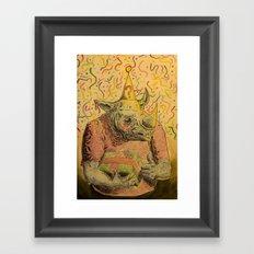 Valeu! Framed Art Print