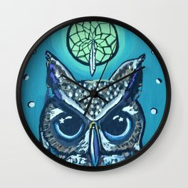 The Owl's Alter Wall Clock