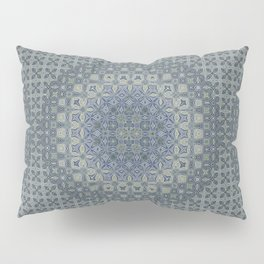 midnight blue butterfly kaleidoskope Pillow Sham