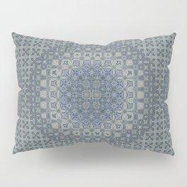 midnight blue butterfly kaleidoskope Pillow Sham