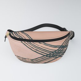 Blush and Navy Vibes Fanny Pack