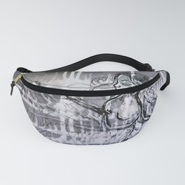 Alice under water Fanny Pack