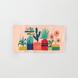 Plant mania Hand & Bath Towel