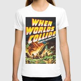 Planet Destroy Earth T-shirt