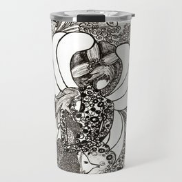 King and Queen Travel Mug