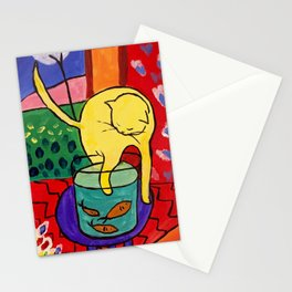 Cat with Red Fish- Henri Matisse Stationery Cards