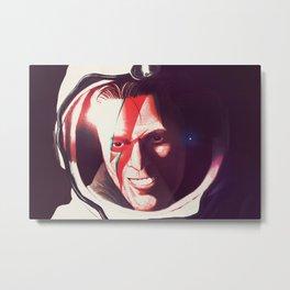 Starman Metal Print