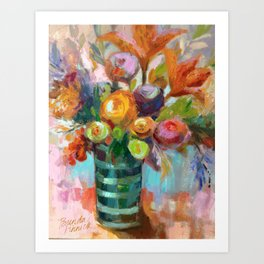 Bloom Fresh Art Print
