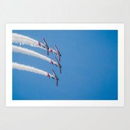 PLANES - AIR SHOW Art Print