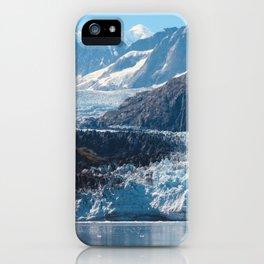 Deep Blue Glacier iPhone Case