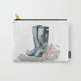 Spring Rain Boots Carry-All Pouch