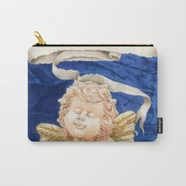 Cherub with Squeeze-box Carry-All Pouch