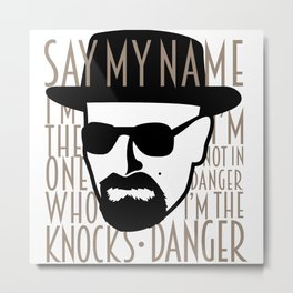 Breaking Bad: Heisenberg Metal Print