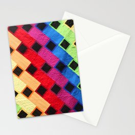 rainbow dance party Stationery Cards